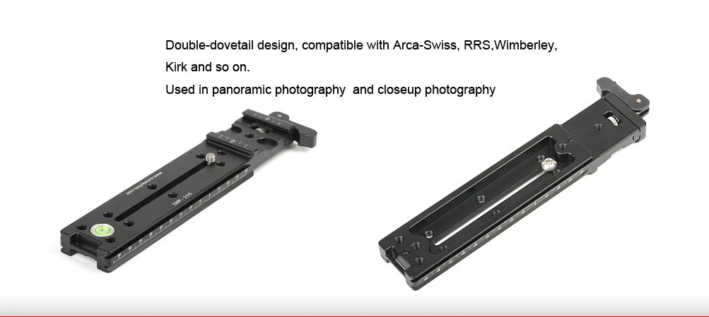 Sunwayfoto DMP-200LR Multi-Purpose Rail Nodal Slide