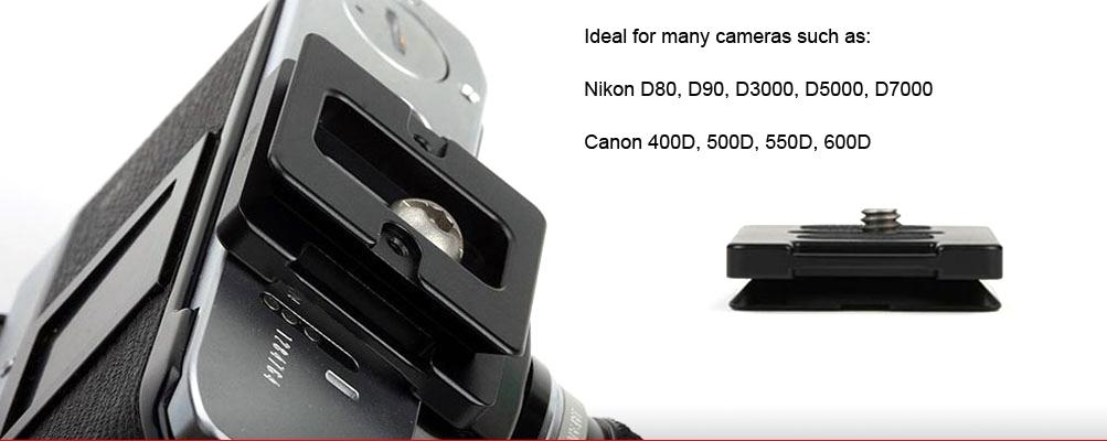 Sunwayfoto DP-39R Universal Quick-Release Plate