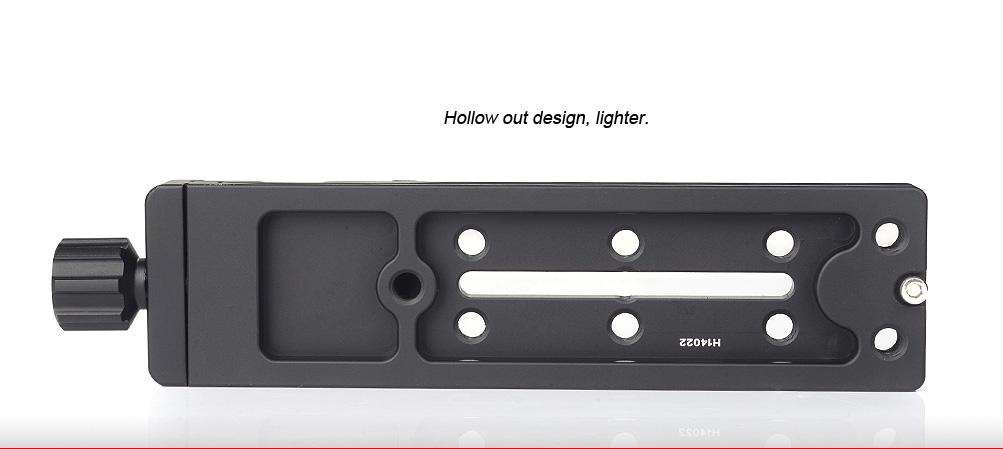 Sunwayfoto DMP-140R Multi-Purpose Rail Nodal Slide