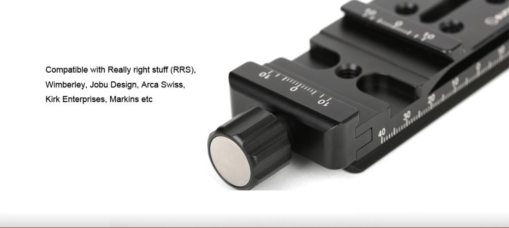Sunwayfoto DMP-100R Multi-Purpose Rail Nodal Slide