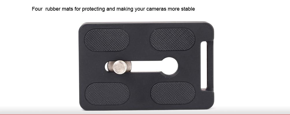 Sunwayfoto DP-60R Universal Quick-Release Plate