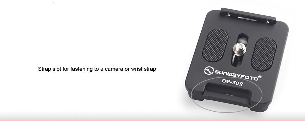 Sunwayfoto DP‑50R Universal Quick Release Plate