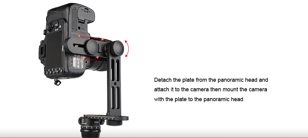 Sunwayfoto CR-30 Mini Compact Panoramic Head