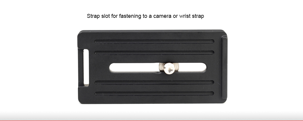 Sunwayfoto DPG-80DR Universal Quick-Release Plate