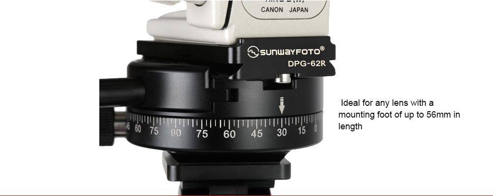 Sunwayfoto DPG-62R Universal Quick-Release Plate