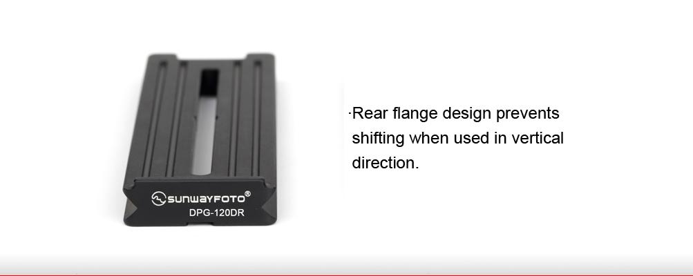 Sunwayfoto DPG-120DR Universal Quick-Release Plate