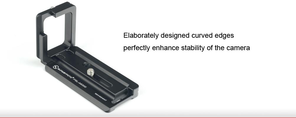 Sunwayfoto PSL-A6300 Custom L Bracket for Sony α6300