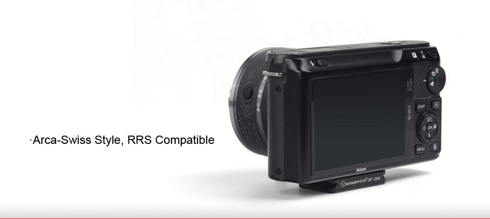 Sunwayfoto DP-26R Universal Quick-Release Plates
