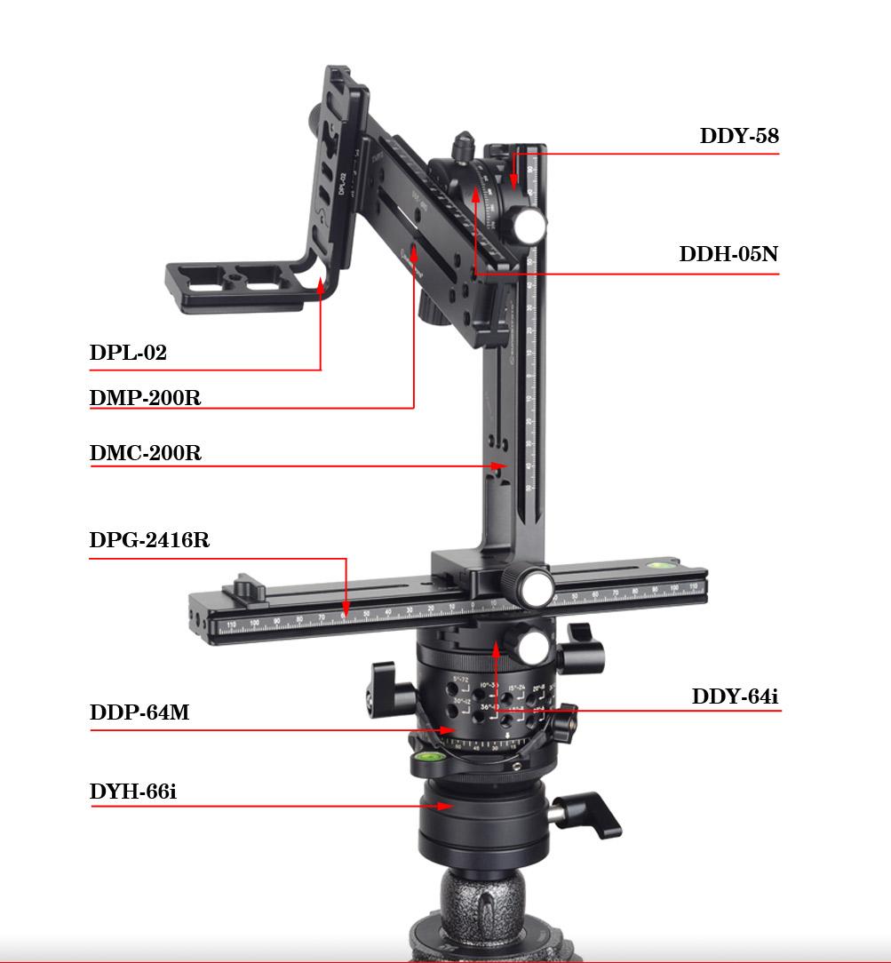 Sunwayfoto PANO-1 Professional Panoramic Head Set