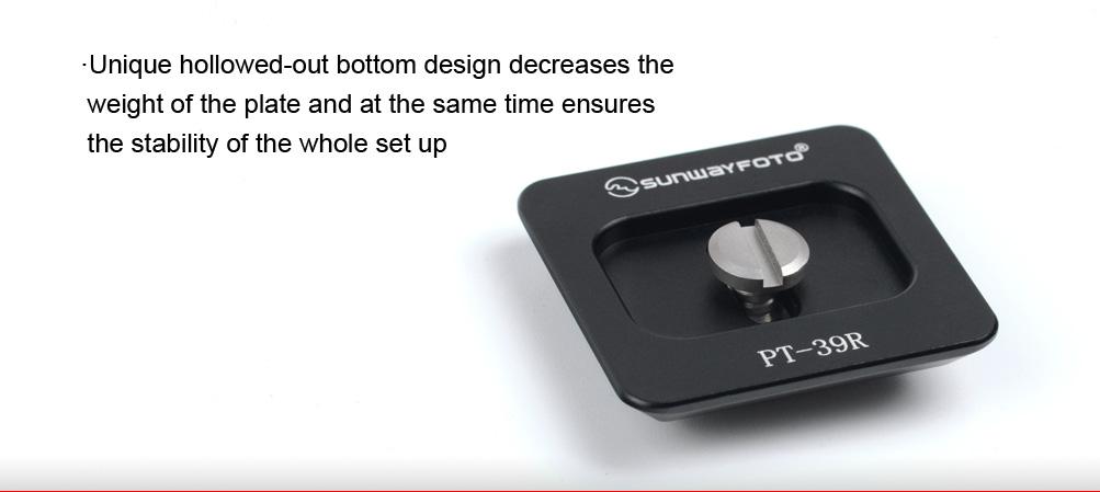 Sunwayfoto PT-37 Universal Quick-Release Plate