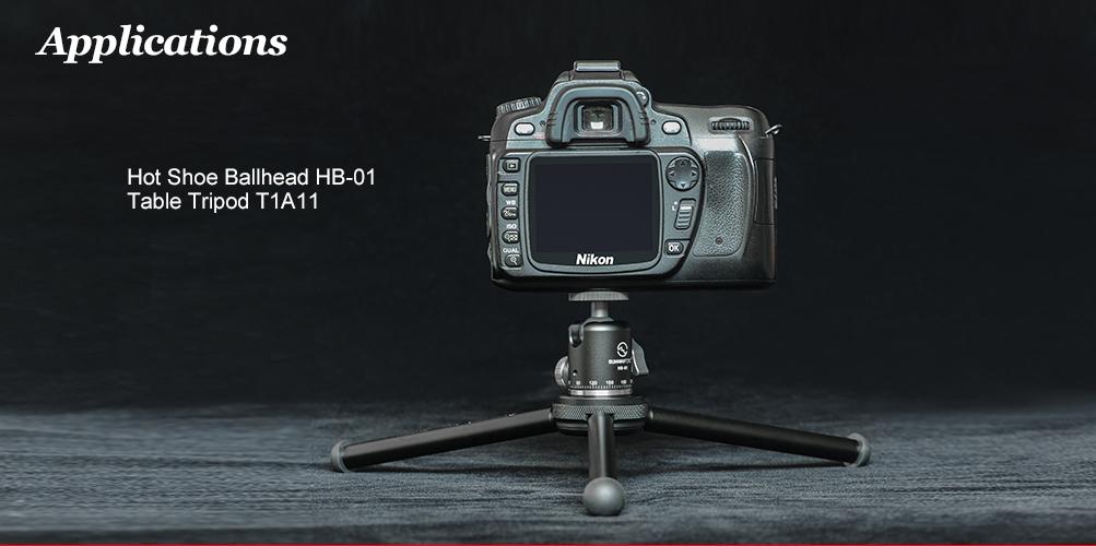 Sunwayfoto HB-01 Mini Ballhead