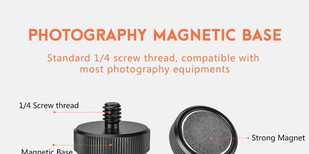 Sunwayfoto MB-01 Photography Magnetic Base