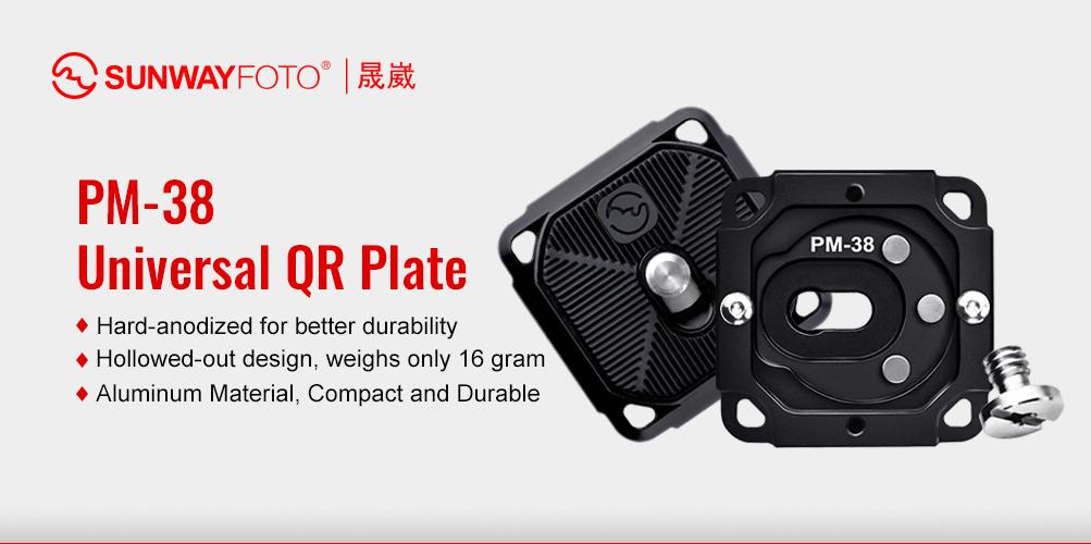 Sunwayfoto PM-38 Quick Release Plate
