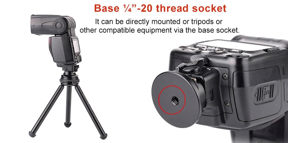 Sunwayfoto CB-02 Quick Release Plate Cold Shoe Adapter
