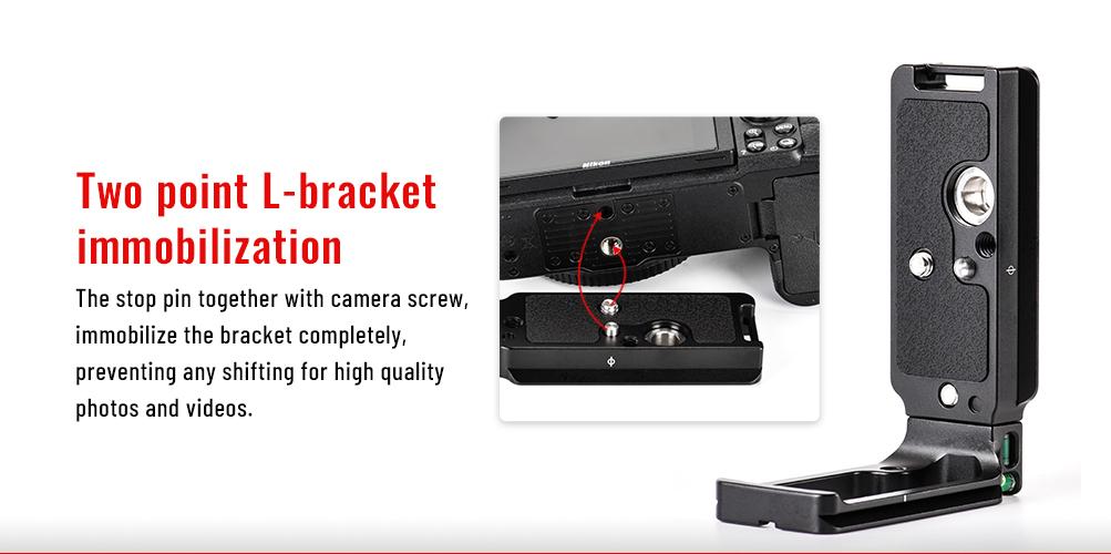 PNL-Z6II L-Bracket for Nikon Z6II/Z7II
